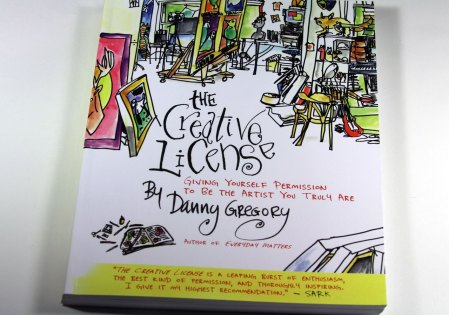 The Creative License by Danny Gregory