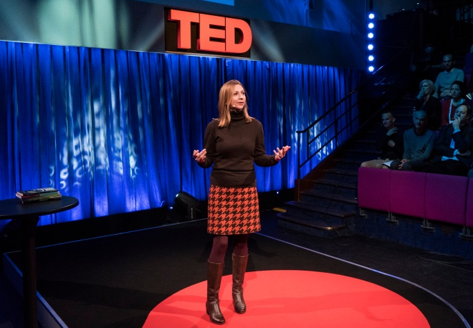 Ann Morgan at TEDGlobal>London.