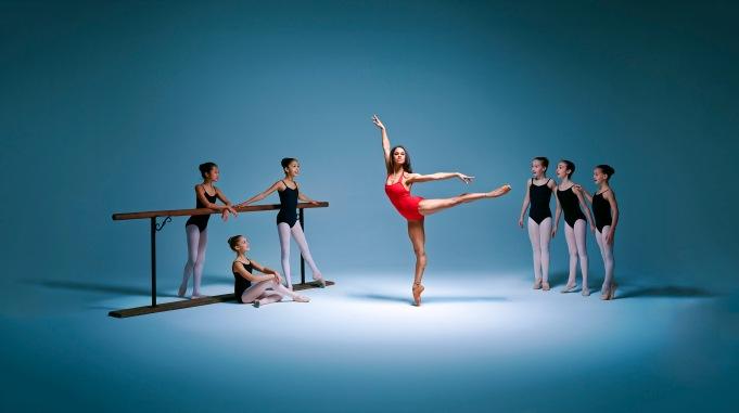 Ballet dancer Misty Copeland, photographed in New York by Brad Trent in November 2014.