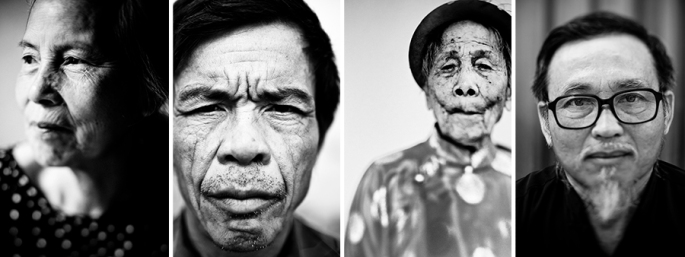Portraits by Aaron Joel Santos.