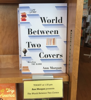 The US version of Ann's book, The World Between Two Covers.