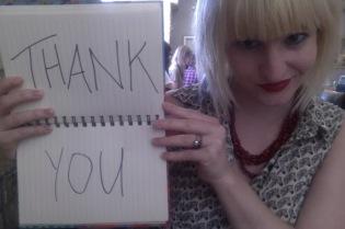belle jar thank you