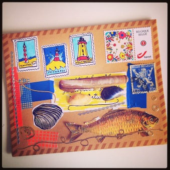 Mail art, courtesy of Fennabee