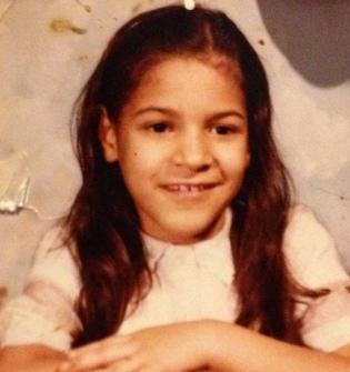 Vanessa Mártir, age nine.