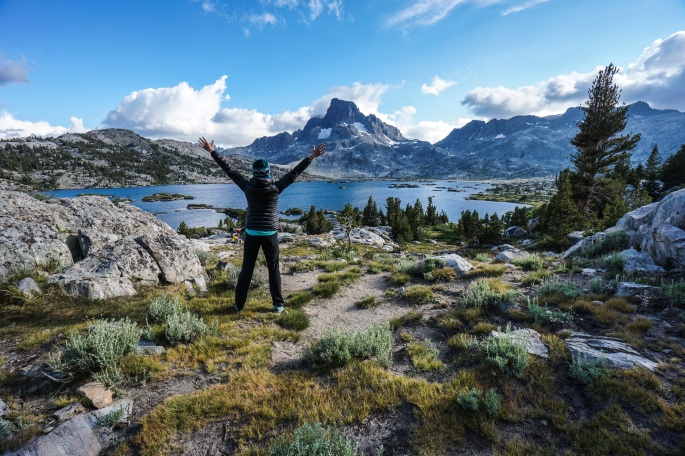On the John Muir Trail: Tuolumne Meadows to Thousand Island Lake.