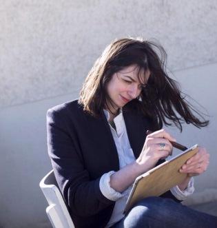 Jessie Kanelos Weiner. Photo by Cyrille Weiner