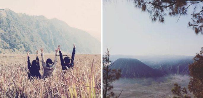 Mount Bromo, Tengger and Semeru National Park, East Java, Indonesia.
