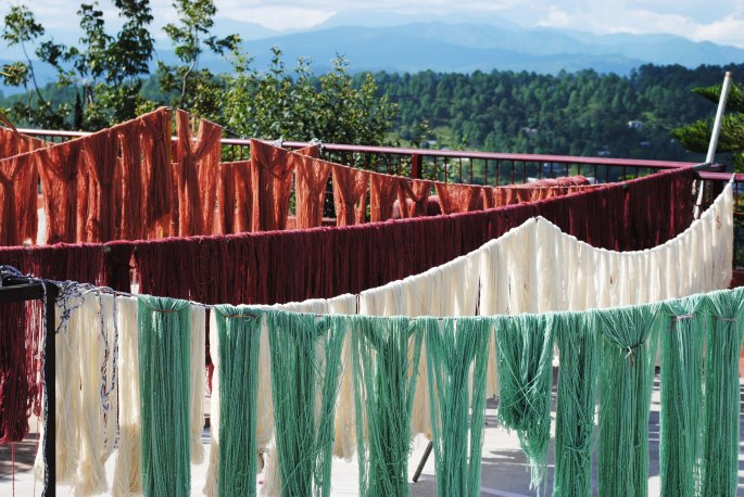 dyed-yarn-drying-in-the-sun