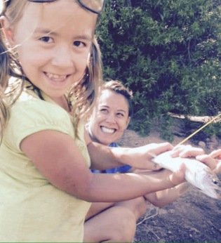Alexis Kanda-Olmstead and her daughter.