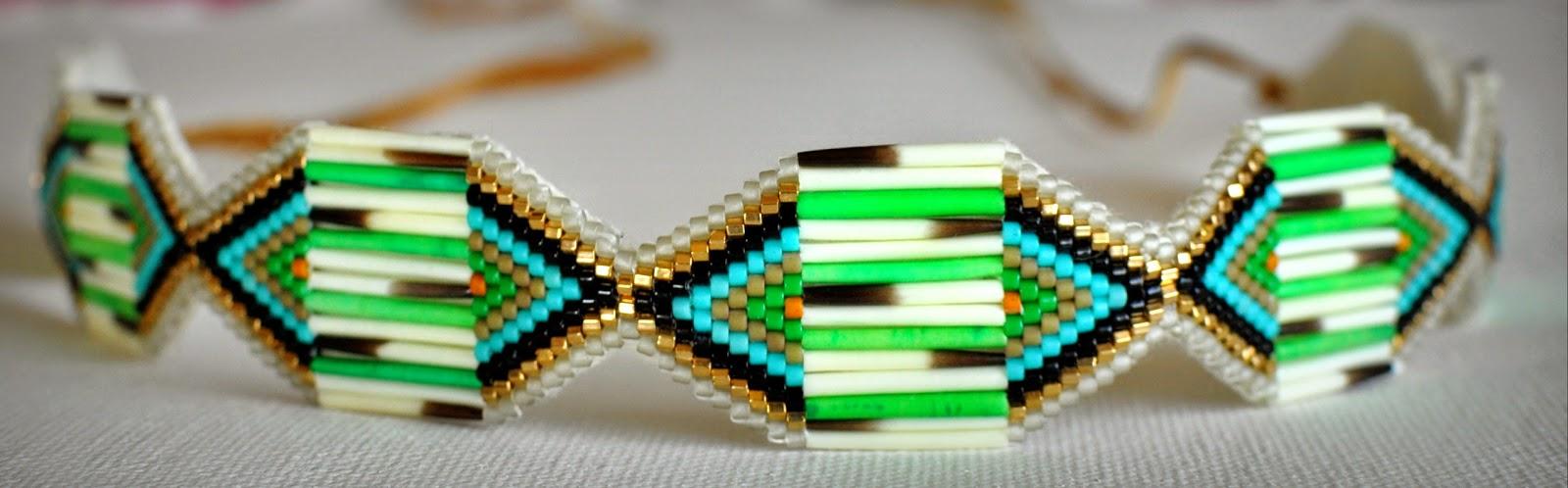 Jewelry by Caroline Belchert.