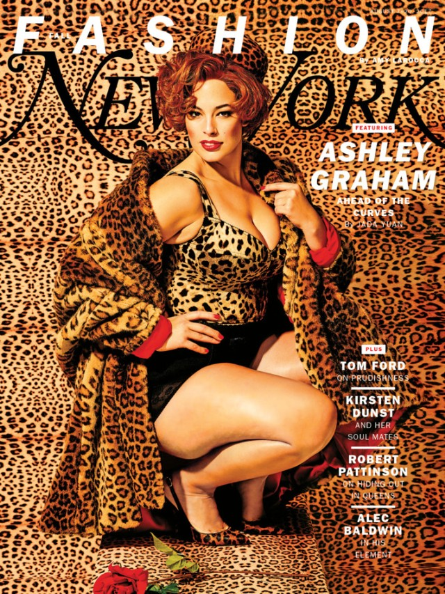 Ashley Graham on New York's Fall Fashion Issue