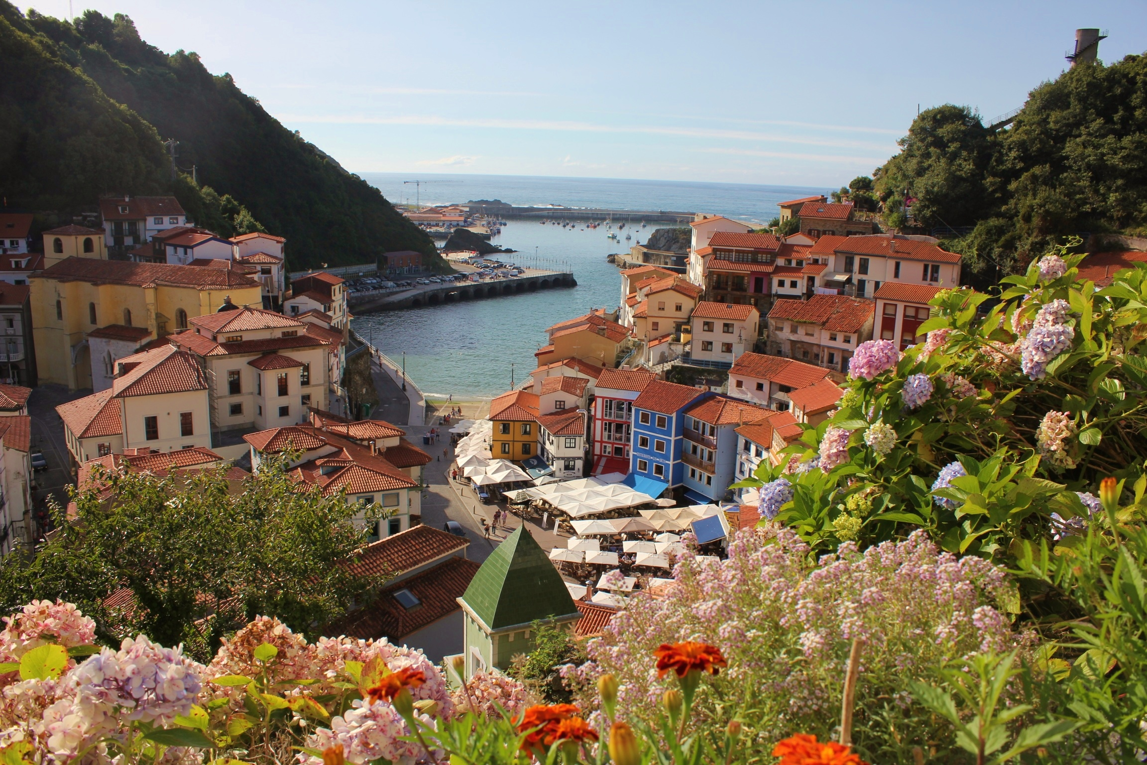 Cudillero: A View from Above