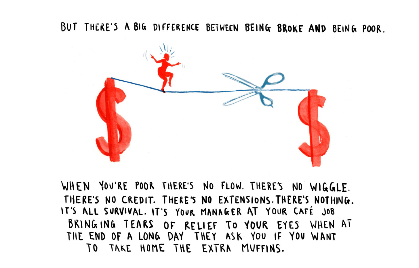 The Difference Between Being Broke and Being Poor