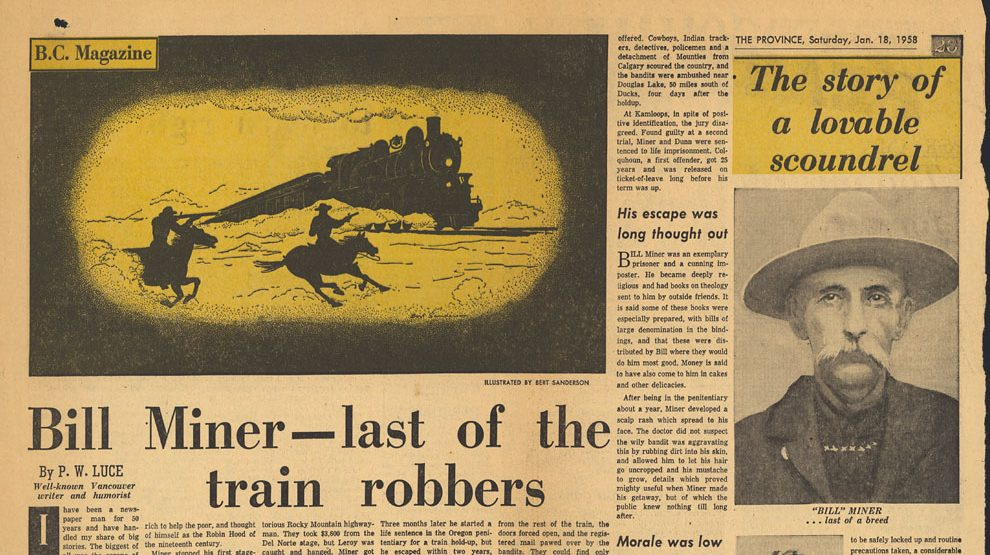 The Grey Fox: Legendary Train Robber Billy Miner