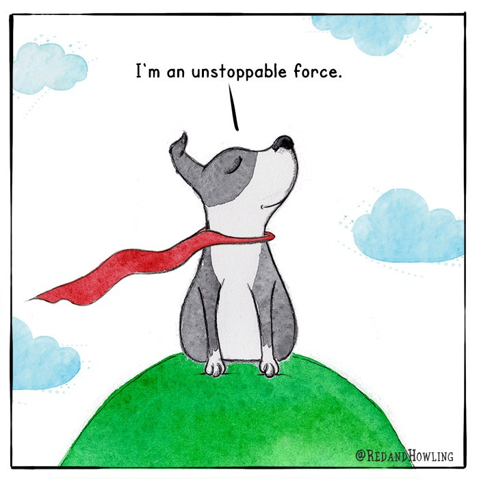 I Am Fearless…