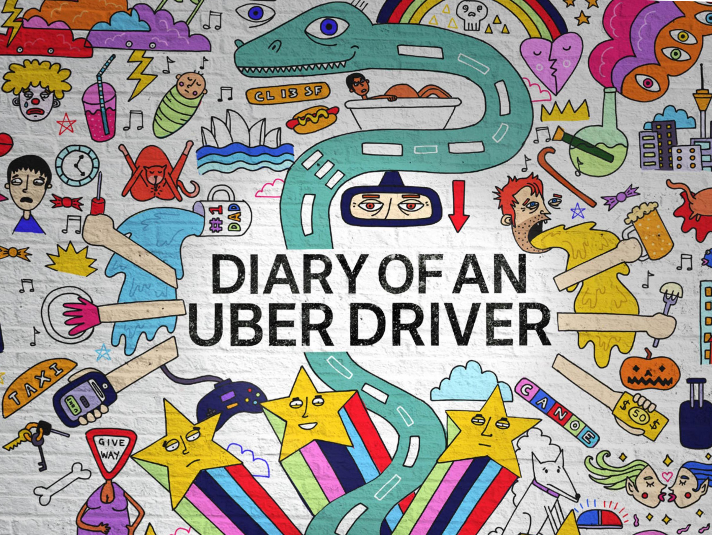 From Blog to Book to TV Show: The Journey of an Uber Driver